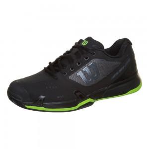Wilson - Rush Pro 2.5 Clay Exclusive Férfi Teniszcipő Fekete/Ezüstszínű/Neonzöld