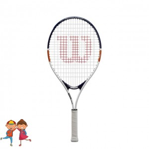 Wilson - Roland Garros Elite 25 (2020) Gyerek Teniszütő Fehér/Kék/Barna