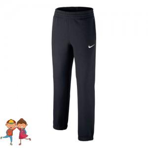 Nike - Sportswear Brushed Fiú Tréning Nadrág fekete/fehér