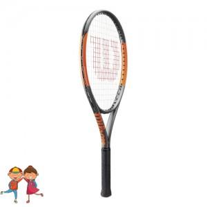 Wilson - Burn 26 S (2017) Gyerek Teniszütő fekete/narancssárga