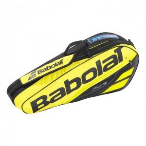 Babolat - Pure Aero 2018 Tenisz Táska X3 Teniszütőnek Sárga/Fekete