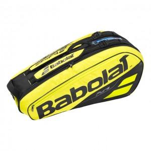 Babolat - Pure Aero 2018 Tenisz Táska X6 Teniszütőnek Sárga/Fekete
