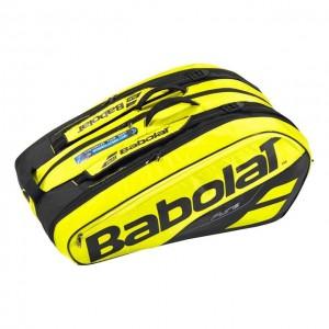 Babolat - Pure Aero 2018 Tenisz Táska  X12 Teniszütőnek Sárga/Fekete