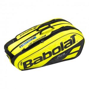 Babolat - Pure Aero 2018 Tenisz Táska X9 Teniszütőnek Sárga/Fekete