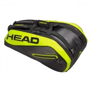 HEAD - Extreme 2018 9R Supercombi Tenisz Táska 9 Teniszütőnek Fekete/Neon Sárga