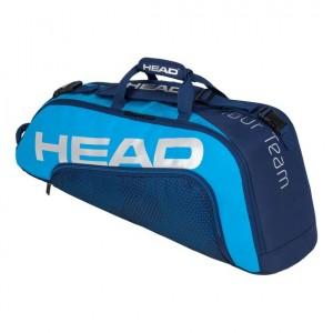 HEAD - Tour Team 2020 6R Combi Tenisz Táska 6 Teniszütőnek Sötétkék/Kék/Ezüstszínű