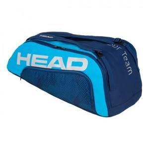 HEAD - Tour Team 2020 9R Supercombi Tenisz Táska 9 Teniszütőnek Sötétkék/Kék/Ezüstszínű