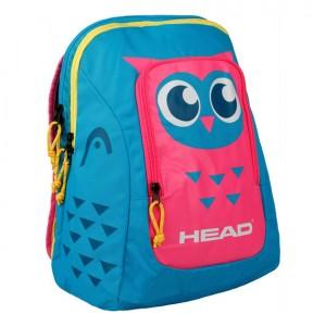 HEAD - Kids Backpack Gyerek Tenisz Hátizsák Világoskék/Rózsaszín/Sárga/Ezüstszínű