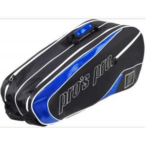 Pros Pro - Tenisztáska 8 Ütőnek Fekete/Kék
