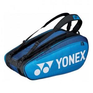 Yonex - Pro X12 Teniszütőnek Tenisz Táska Kék/Fekete/Ezüstszínű