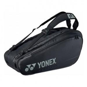 Yonex - Pro X6 Teniszütőnek Tenisz Táska Fekete/Ezüstszínű