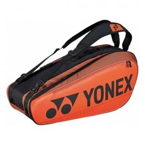 Yonex - Pro X6 Teniszütőnek Tenisz Táska Narancssárga/Fekete