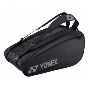 Yonex - Pro X9 Teniszütőnek Tenisz Táska Fekete/Ezüstszínű