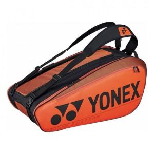 Yonex - Pro X9 Teniszütőnek Tenisz Táska Narancssárga/Fekete