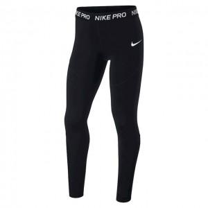 Nike - Pro Tight Lány Sport Jéger Fekete/Fehér