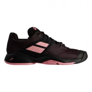 Babolat - Propulse Fury All Court Női Teniszcipő Fekete/Rózsaszín