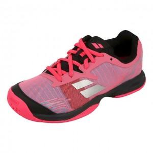 Babolat - Jet All Court Jr. Lány Teniszcipő Rózsaszín/Fekete/Ezüstszínű