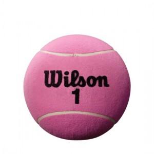 Wilson - Roland Garros Jumbo Ball 22 cm Autográf Labda Rózsaszín