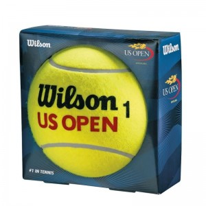 Wilson - US Open Jumbo Ball 22 Cm Autográf Labda Sárga