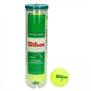 Wilson - Starter Play Green (Stage 1) 4 Db. Verseny Gyerek Teniszlabda