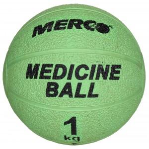 Merco - Single Gumi Gyógyszer Labda 1 Kg Világos Zöld