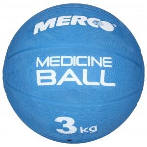 Merco - Single Gumi Gyógyszer Labda 3 Kg Kék