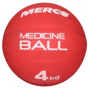 Merco - Single Gumi Gyógyszer Labda 4 Kg Piros