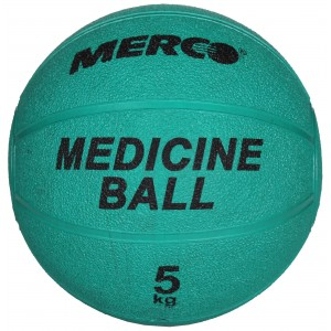 Merco - Single Gumi Gyógyszer Labda 5 Kg Zöld