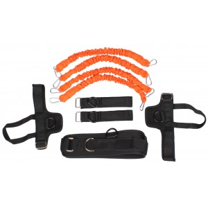 LiveUp - Multifunkcionális Fitness Rendszer Narancssárga/Fekete