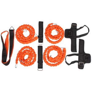 LiveUp - Multifunkcionális Fitness Rendszer LS3666 Narancssárga/Fekete
