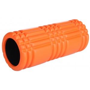 LiveUp - Roller Spuma Yoga LS3768B Cilindru de Masaj 33x15cm Portocaliu