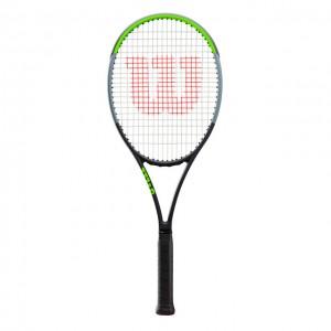 Wilson - Blade 98 V7.0 18x20 Tour Verseny Teniszütő Fekete/Világos Zöld/Ezüstszínű