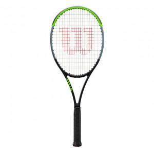 Wilson - Blade 98S V7.0 Tour Verseny Teniszütő Fekete/Világos Zöld/Ezüstszínű