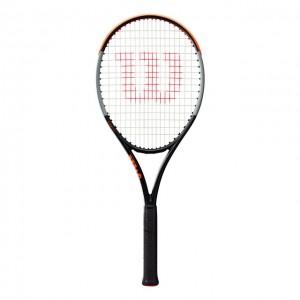 Wilson - Burn V4 100 LS Tour 2020 Verseny Teniszütő Fekete/Szürke/Narancssárga