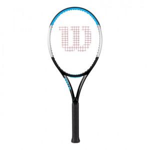 Wilson - Ultra 100 V3.0 Tour 2020 Verseny Teniszütő Fekete/Kék/Ezüstszínű