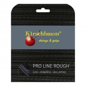 Kirschbaum - Pro Line Rough Fekete Teniszhúr 12 M