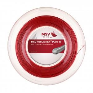 MSV - Focus Hex Plus 38 Teniszhúr 200m Tekercs Piros