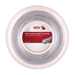 MSV - Focus Hex Plus 38 Teniszhúr 200m Tekercs Fehér