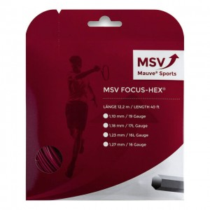 MSV - Focus Hex Teniszhúr 12m Piros