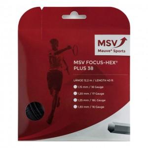 MSV - Focus Hex Plus 38 Teniszhúr 12m Fehér