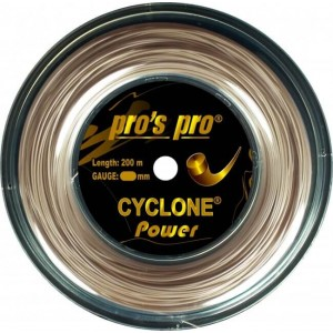 Pro's Pro - Cyclone Power Teniszhúr 200m Tekercs Metallic Gold