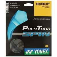 Yonex - Poly Tour Spin 12m Teniszhúr Fekete