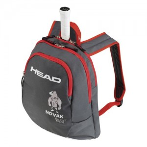 HEAD - Novak Junior Tenisz Hátizsák fekete/piros