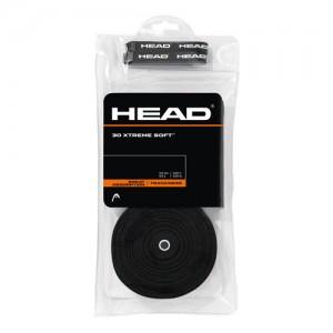 HEAD - XTREME SOFT 30Db./Csomag Overgrip fekete