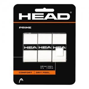 HEAD - PRIME 3 Db./Csomag Overgrip fehér