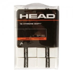HEAD - XTREME SOFT 12Db./Csomag Perforált Overgrip fehér