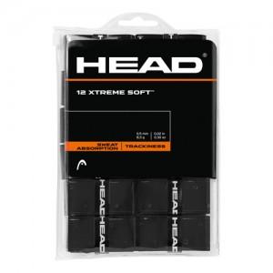 HEAD - XTREME SOFT 12Db./Csomag Perforált Overgrip fekete
