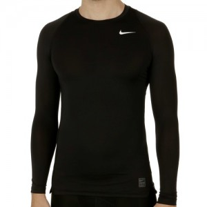 Nike - Pro Cool Kompressziós Férfi Blúz fekete