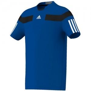 adidas - Barricade Crew Tee Fiú Póló kék/fekete