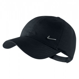 Nike - Heritage 86 Metal Swoosh Junior Napellenző Tenisz Sapka fekete